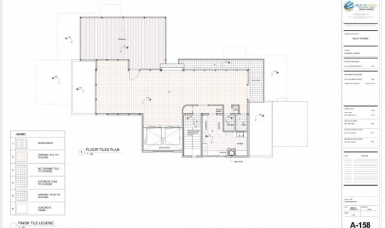 Upper Bar Architectual Plan